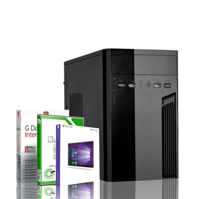 Gaming PC AMD Quad Core FX 4100 GeForce GT 1030 Windows 10 PRO Rechner Computer 41